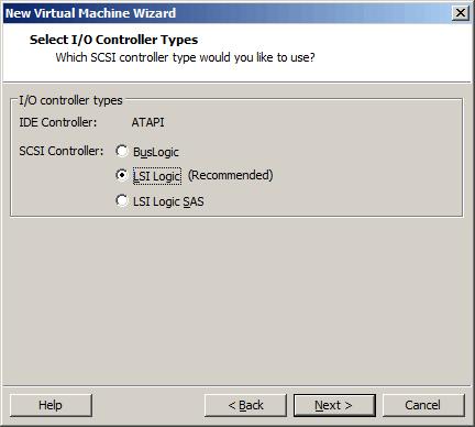 选择I/O控制类别