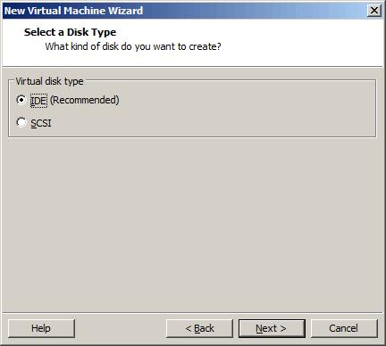 选择硬盘种类