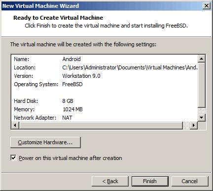 虚拟机硬件的设置综览