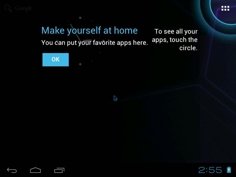 进入Android x86