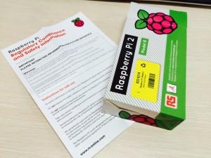 Rpi2盒子和说明书